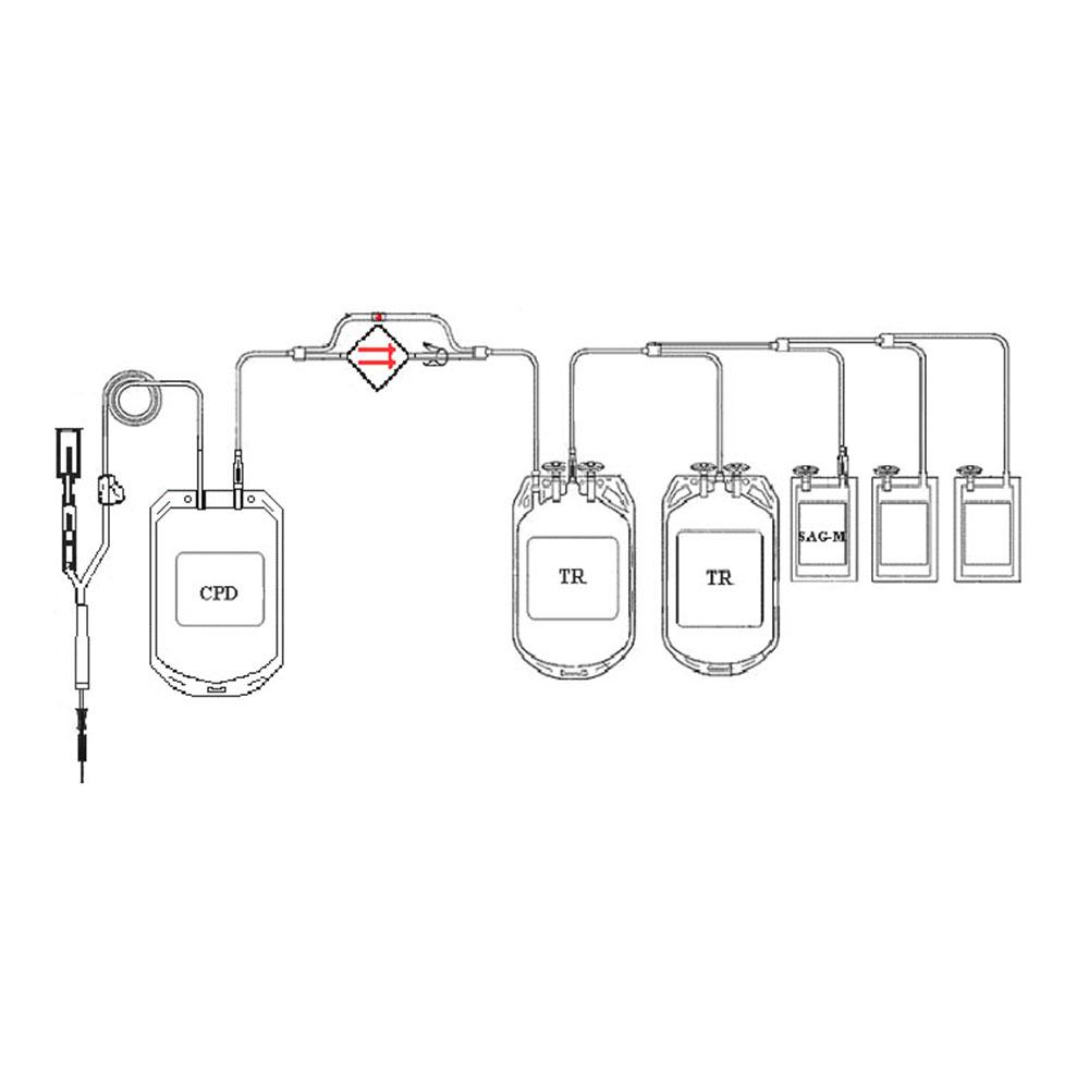 KT PED/4 TKF CPD/SAG-M 450/3X150 ML NA